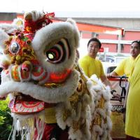 Pearl City Shopping Center Merchants Association celebrates the Chinese New Year