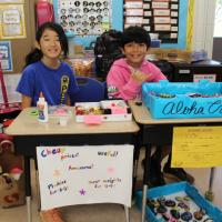 Palisades Elementary 5th Grade Market a Big Hit! (5/22/2018)