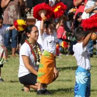 """""""May Day is Lei Day"""" at Manana Elementary School (5/1/2013)"""