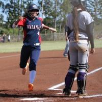 Waianae gets past Pearl City 4-3 in OIA Red West Varsity Softball (3/20/2014)