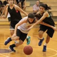 Mililani over Pearl City 21-6 in Lady Chargers Summer League Basketball 6/26/13