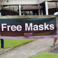 Every1ne donates 8000 masks to Pearl City community (5.2.2020)