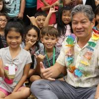 "Kanoelani Elementary is ""Stuck on Aloha"" with Duane Kurisu visit (10/29/2018)"