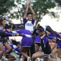 Pearl City Cheer in Da House! (10.5.18) Photo by Barry Villamil | barry@mypearlc