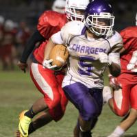 Pearl City over Kalani 25-12 in OIA White JV Football (8/23/2013)