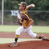 Nakachi tosses one hitter to lead Mililani over Pearl City 2-1 (3/12/2014)