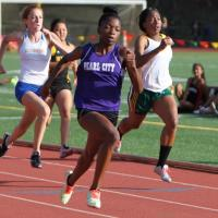 Briscoe leads  Lady Chargers at OIA Varsity Track Championship Prelims (5/1/2014