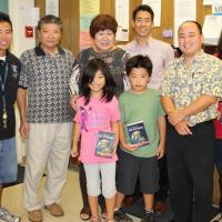 Pearlridge Rotarians wrap up 2013 free dictionary project at Momilani Elementary
