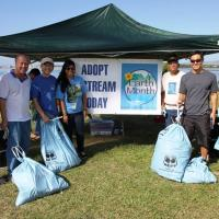 Pearl Harbor Bike Path Clean Up (4/5/2014)