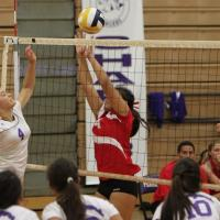 Pearl City sweeps Waialua 25-16, 25-12 in OIA Red Girls Varsity Volleyball
