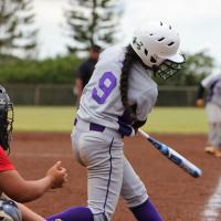 Bali's bottom of the 7th RBI single leads Pearl City over Waianae 4-3 (3/30/13)