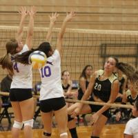 Mililani sweeps Pearl City in OIA Red West Girls Varsity Volleyball  (9/11/2013)