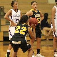Nanakuli picks off Pearl City 45-9 in OIA Varsity Girls Basketball (1/4/2013)