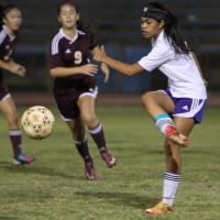 Pearl City over Castle 3-0 in OIA Red Vars Girls Championship Tourney (1/16/13)