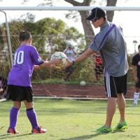 Chargers reach out to Pearl City AYSO (11/16/2013)