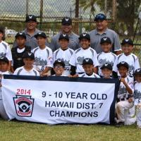 Waipio beats Pearl City 9-1 to win 9 & 10 District 7 Little League Championship