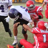 Pearl City's balanced attack overwhelms Waialua 34-7 in OIA D2 Varsity Football