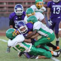 Pearl City rolls over Kaimuki 42-0 in OIA D2 Junior Varsity Football (8/29/2014)