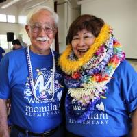 Principal Doreen Higa celebrates 25th Anniversary at Momilani Elementary School