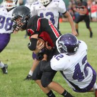 Radford blanks Pearl City 18-0 in OIA D 2 Junior Varsity Football (9/20/2014)