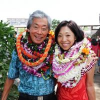 Roy and Kathy Sakuma proud recipients of the 2014 Distinguished Peacemaker Award