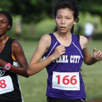 2014 HHSAA State Girls Cross Country Championships - Pearl City Chargers (11/1/2