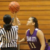 Mililani over Pearl City 61-15 in OIA girls' varsity basketball (12/20/2014)