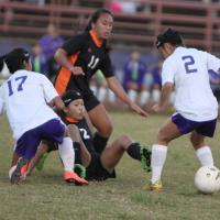 Pearl City goes down to Campbell 3-1 for first loss of regular season (1/6/2014)