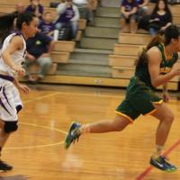 Lady Mules pick up speed in 76-31 win over Lady Chargers (1/16/2015)