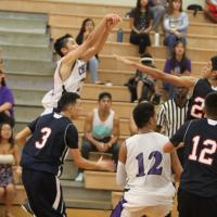 Pearl City downs Waianae 46-44 in OT Thriller! ( 1/17/2015)