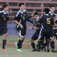 Mililani beats Pearl City 3-2 in OIA Western Division Boys' Soccer (1/20/2015)