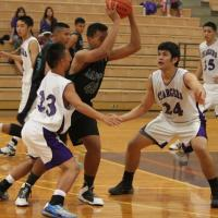 Pearl City over Kapolei 38-36 in OIA D1 boys' basketball (1/21/2015)