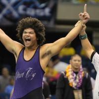 Chargers win three individual titles at the HHSAA State Wrestling Championships