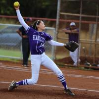 Pearl City over Waianae 2-1 in OIA Western Division I varsity softball (3/21/201