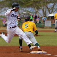 Pearl City cruises past Leilehua 10-3 in OIA D1 West varsity baseball (4/4/2015)