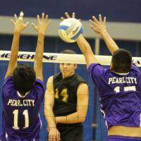 #1 HBA sweeps Pearl City 3-0 at HHSAA D II Volleyball Championship Quarterfinals