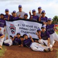 Pearl City wins 9-10 Year Old Hawaii Little League District 7 Championship  8-3