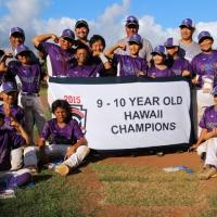 Pearl City wins 2015 Hawaii Little League 9-10 State Championship Title 10-0 ove