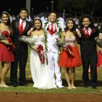 2015 Pearl City High School Homecoming Court (9/25/2015)