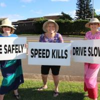 """CTAP message to motorists, """"SLOW DOWN, DRIVE SAFE""""! (10/22/2015)"""