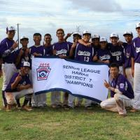 Pearl City sweeps MKH to capture D7 Seniors Little League Championship (6/26/201