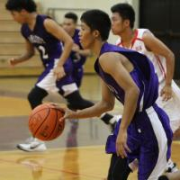 Pearl City over Waialua 49-43 in OIA Western Division Varsity Basketball (1/7/20