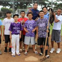 "Pearl City Little League brings Pacheco Park back to a ""Shining Diamond""! (1/9/2"