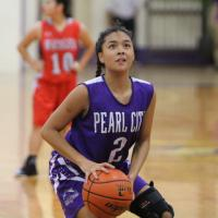 Lady Chargers celebrate Senior Night with 38-23 win over Waialua (1/15/2016)