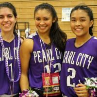 Aloha Ciera, Tianna, Brianna! Lady Chargers celebrate Senior Night with 38-23 wi
