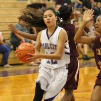 Castle 32 Pearl City 28 in OIA D2 JV Girls Basketball Championship Tournament Se