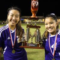 PEARL CITY LADY CHARGERS CROWNED 2016 HHSAA STATE D1 SOCCER CHAMPIONS! (2/20/201