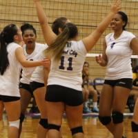 Pearl City over Nanakuli 2-1 in OIA D1 Girls Varsity Volleyball (9/27/2016)
