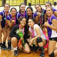 Senior Lady Chargers sent off in style with 2-0 sweep over Waipahu (10/4/2016)