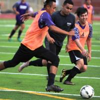 2017 Pearl City Chargers Boys Soccer Alumni Game (1/14/2017)